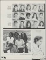 1989 Union High School Yearbook Page 106 & 107