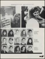 1989 Union High School Yearbook Page 108 & 109