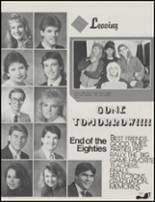 1989 Union High School Yearbook Page 160 & 161