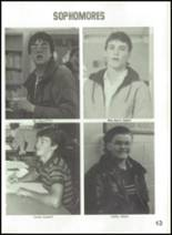 1987 Rosalia High School Yearbook Page 16 & 17