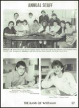 1987 Rosalia High School Yearbook Page 30 & 31
