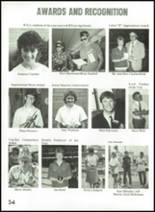 1987 Rosalia High School Yearbook Page 58 & 59