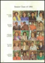 1984 Collins High School Yearbook Page 22 & 23