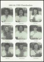 1984 Collins High School Yearbook Page 46 & 47