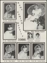 1987 Antlers High School Yearbook Page 28 & 29