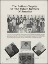 1987 Antlers High School Yearbook Page 42 & 43