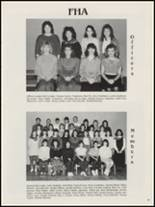 1987 Antlers High School Yearbook Page 44 & 45