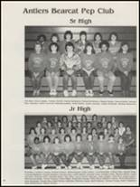 1987 Antlers High School Yearbook Page 50 & 51
