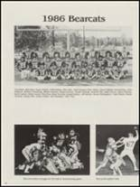 1987 Antlers High School Yearbook Page 54 & 55