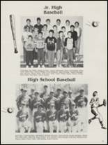 1987 Antlers High School Yearbook Page 70 & 71