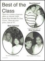1997 Atlantic High School Yearbook Page 54 & 55