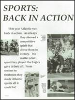 1997 Atlantic High School Yearbook Page 142 & 143