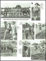 1997 Atlantic High School Yearbook Page 172 & 173