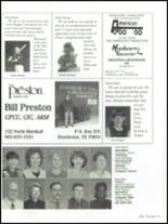 1999 Henderson High School Yearbook Page 166 & 167