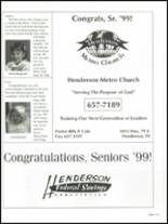 1999 Henderson High School Yearbook Page 188 & 189