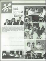 1989 Lima Central Catholic High School Yearbook Page 128 & 129