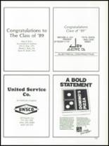 1989 Lima Central Catholic High School Yearbook Page 156 & 157