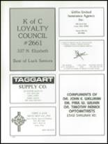 1989 Lima Central Catholic High School Yearbook Page 160 & 161