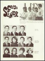 1968 Argentine High School Yearbook Page 46 & 47