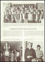 1968 Argentine High School Yearbook Page 70 & 71