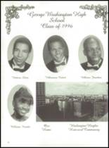 1996 George Washington High School Yearbook Page 56 & 57