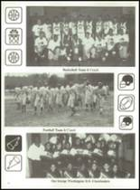 1996 George Washington High School Yearbook Page 100 & 101