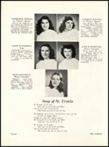1947 St. Ursula Academy Yearbook Page 24 & 25