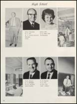 1965 Clyde High School Yearbook Page 18 & 19