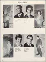 1965 Clyde High School Yearbook Page 20 & 21