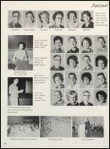 1965 Clyde High School Yearbook Page 54 & 55