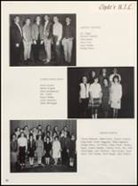 1965 Clyde High School Yearbook Page 68 & 69
