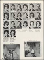 1965 Clyde High School Yearbook Page 100 & 101
