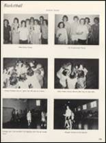 1965 Clyde High School Yearbook Page 112 & 113