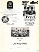 1965 Brookwood High School Yearbook Page 110 & 111