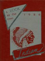 1986 Yearbook Anderson High School