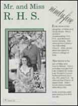 1995 Ringling High School Yearbook Page 68 & 69