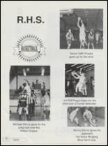 1995 Ringling High School Yearbook Page 82 & 83