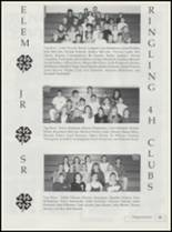 1995 Ringling High School Yearbook Page 98 & 99