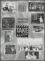 1995 Ringling High School Yearbook Page 108 & 109
