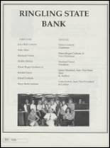 1995 Ringling High School Yearbook Page 118 & 119