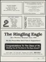 1995 Ringling High School Yearbook Page 122 & 123