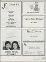 1995 Ringling High School Yearbook Page 126 & 127