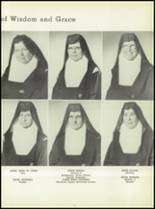 1950 Our Lady Queen of Angels High School Yearbook Page 16 & 17