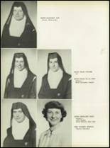 1950 Our Lady Queen of Angels High School Yearbook Page 18 & 19