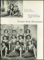 1950 Our Lady Queen of Angels High School Yearbook Page 20 & 21