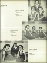 1950 Our Lady Queen of Angels High School Yearbook Page 38 & 39