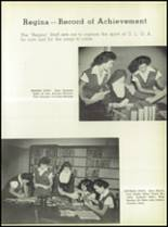 1950 Our Lady Queen of Angels High School Yearbook Page 40 & 41