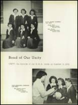1950 Our Lady Queen of Angels High School Yearbook Page 42 & 43