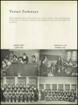 1950 Our Lady Queen of Angels High School Yearbook Page 44 & 45