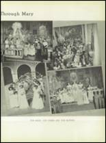1950 Our Lady Queen of Angels High School Yearbook Page 48 & 49